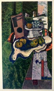Georges Braque Original Musee Louvre Chalcographie 1962