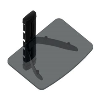 Wall Mount Single Shelf with Glass for DVR