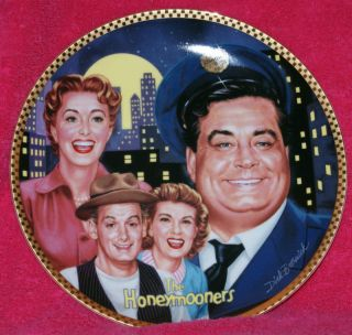 Honeymooners Jackie Gleason Commemorative Plate Retire