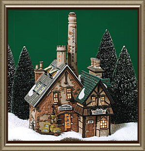 Glendun Cocoa Works New Department Dept 56 Dickens Village DV