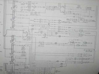 1985 GMC MD HD Truck Wiring Diagrams Shop Manual