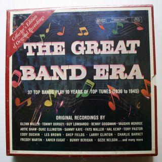 Glenn Miller Benny Goodman Classic SEALED Readers Digest 10LP Box Set
