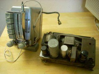 1950 & 49 Chevrolet 6V Radio & Speaker   rebuilt & works 50 49 Belair