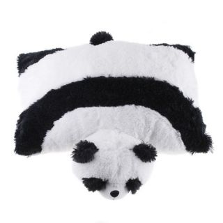 Lovely Pillow Cushion Soft Cartoon Giant Black White Panda Pet Animal