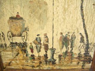 Original Elmo Gideon French Impressionist Oil Painting