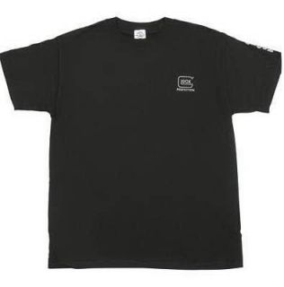 Glock Perfection Logo Black Short Sleeve T Shirt Large GLAA11001