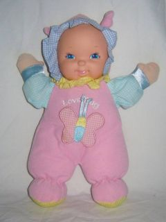 Goldberger Love Bug Plush Baby Doll w Butterfly