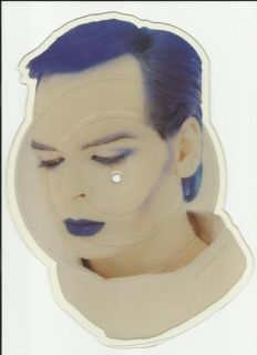 GARY NUMAN berserker 1984 7 shaped PICTURE DISC Limited Edition Single