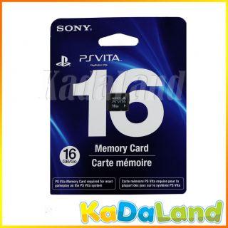 New Official Sony PSVita 16GB Memory Card 16 GB 16g PS Vita