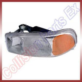 GMC Sierra Yukon Yukon XL Headlight Headlamp RH