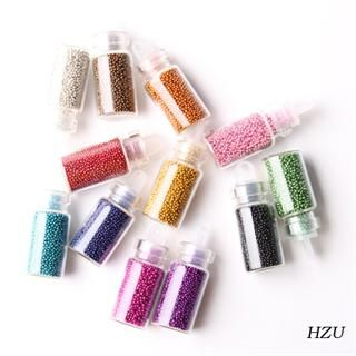 12 Color Caviar 3D Nail Art Carving Manicure or Pedicure Pattern