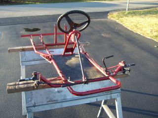 BOBS KART SHOP chassis vintage offset circle track racing go kart cart