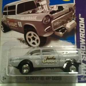 Hot Wheels Super Treasure Hunt Custom 1955 Chevy Bel Air Gasser