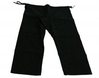 12oz Heavy Martial Arts Karate Gi Uniform Black Pants