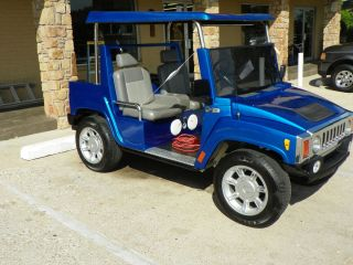 Hummer H3 Custom Golf Cart