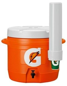Gatorade 7 Gallon Cooler Original Bright Orange Design Cooler