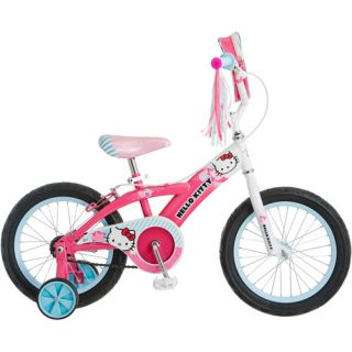 Hello Kitty 16 Girls Bike Pink Bicycle Training Wheels