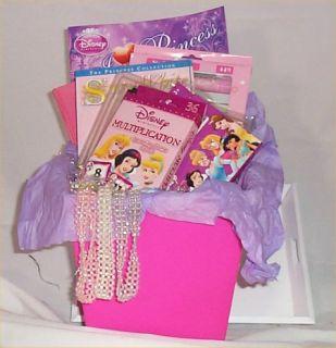 Disney Princess Gift Basket Girls Learn Fun Journal Holiday Any