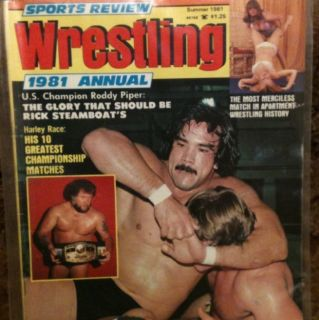 Wrestling Magazine 1981 Ricky Steamboat Womens Apartment Girls