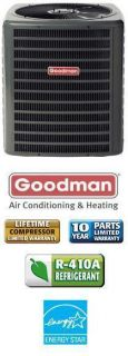 Ton 18 SEER Goodman Heat Pump DSZC180481