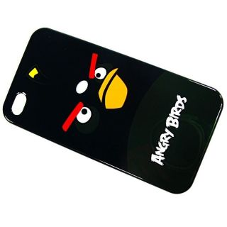 Gear4 Angry Birds Case for iPhone 4 0 5x2 6x4 8 in Black ICAB404G
