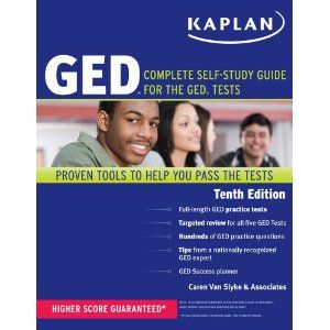 Kaplan Complete Self Study Guide for The GED Tests