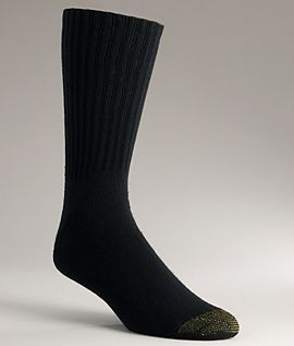 Gold Toe Mens Sport Crew Socks 6 Pack Hosiery