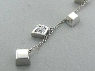 Tiffany Co Gehry Torque 18K Diamond Necklace $3475