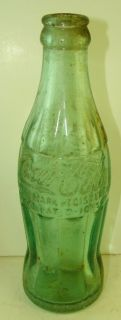 Vintage Coca Cola Goldsboro Hobbleskirt Soda Bottle
