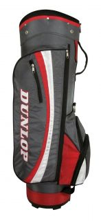 New Dunlop Golf Ladies Cart Bag Grey Red White Golf Bag