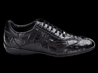 Mezlan Mens Glasgow Sport Dress Lace Up Fashion Sneakers Shoes Black
