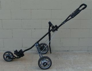 Maxfli Three Wheel Golf Push Cart Used Once