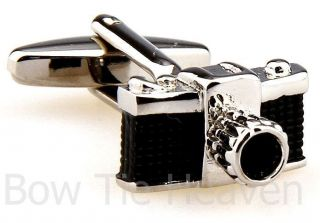 Camera Photographer Cufflinks with Gift Box or Gift Bag
