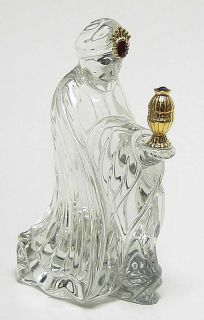 Gorham Crystal Nativity Gorham King Kneeling 887171