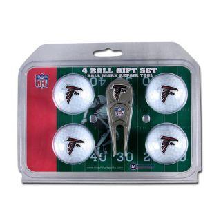 NFL Team Logo Golf Gift Set with Divot Tool and 4 Golf Balls