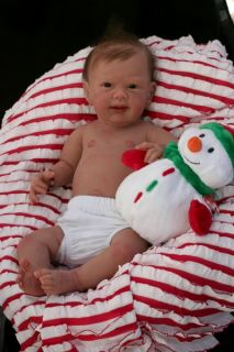 Ginger Full Body Silicone Baby Girl by Michelle Fagan