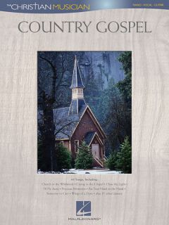 Country Gospel Piano Sheet Music Guitar Chords 45 Christian Songs Book