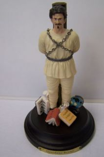 Bruno Giordano Philosophy Figurine Collectibles Figure Statue Figur