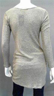 Generation Love Mimi Lux Misses M Shimmer Shirt Top Grey Gold Metallic