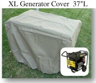 Generator Storage Cover Fit Up to 37L,15000 Watts Generator. UV Water