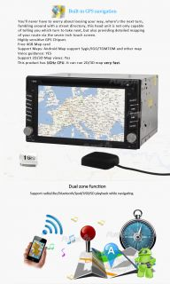 In Dash Car Radio GPS Navigation Fastest Pure Android 3G WiFi CD DVD
