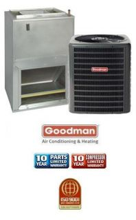 Ton 13 SEER Goodman Air Conditioning System GSX130361 AWUF37101