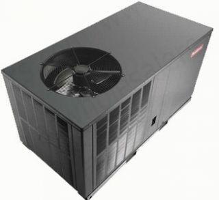 GPC1336H41   Goodman 3 Ton 13 SEER Horizontal Air Conditioner Package