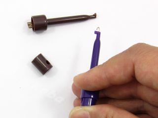 80 Pcs Hand Free Single Hooks Mini Grabbers Test Clips You Can