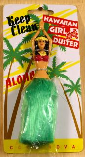Hawaiian Hawaii Aloha Hula Girl Green Skirt Desk Home Office Computer