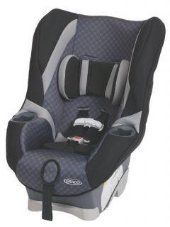 Graco My Ride 65 LX Convertible Car Seat Coda Black 1813074 New