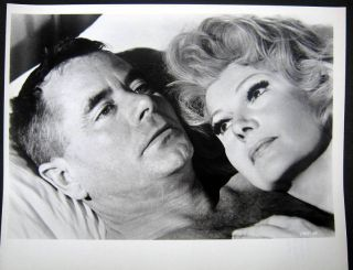 1965 Glenn Ford in Bed with Rita Hayworth