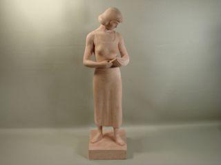 American Art Pottery Ceramic Sculpture WPA Artist Maurice Glickman