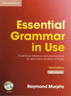 Cambridge Essential Grammar in Use w Answers CD ROM 3rd Edition R