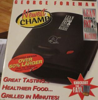 Back to home page  Listed as George Foreman GR2B Indoor Grill in